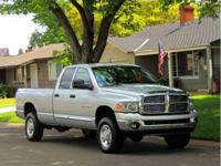 Our Ram 2500 heavy-duty three-quarter ton pickup. with