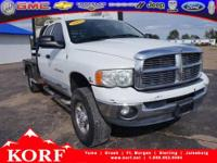 This 4WD 5.9L Turbodiesel is a Crew Cab workhorse!