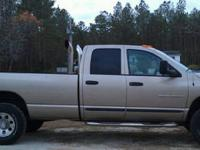 Located in Jacksonville, NC 2005 Dodge Ram 2500, quad
