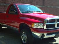 2005 Dodge Ram 2500 4x4 Regular Cab with 61,950