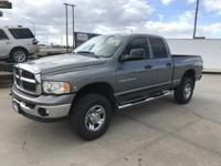 Come see this 2005 Dodge Ram 2500 SLT. Its transmission