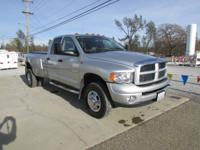 2005 DODGE RAM 3500 QUAD CAB 4X4 5.9 L CUMMINS TURBO