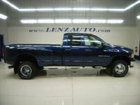 Description 2005 DODGE RAM 3500 Four Wheel Drive, Dual