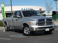 This 2005 Dodge Ram 3500 Laramie Truck features a 5.9L