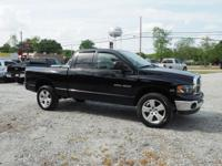 This Black Clearcoat 2005 Dodge Ram 1500 SLT might be
