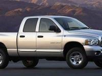 Boasts 18 Highway MPG and 14 City MPG! This Dodge Ram