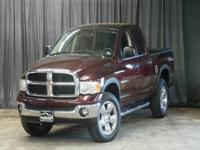 Take command of the road in the 2005 Dodge Ram 1500! A