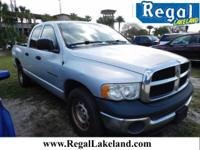 Magnum 4.7L V8. Crew Cab! Hold on to your seats! Are