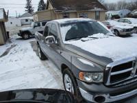 Options:  2005 Dodge Ram 1500 2Wd Quad Cab Slt|Gray|Air