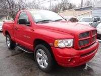 Options:  2005 Dodge Ram 1500 4Wd Reg Cab St|Red|Air