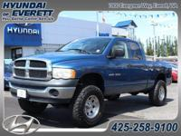 5-Speed Automatic and 4WD. Crew Cab! Are you READY for