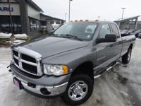 Options:  2005 Dodge Ram 2500 Slt|Gray|*Local