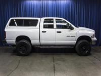 Clean Carfax Lifted Diesel Truck with Matching Canopy!