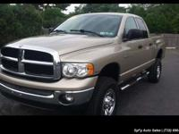 2005 Dodge Ram Pickup 2500 SLT For Sale.Features:Four