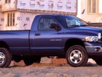 Trustworthy and worry-free, this 2005 Dodge Ram 2500 ST