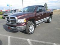 Options:  2005 Dodge Ram 2500 4 Wheel Drive Am/Fm