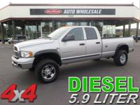 From work to weekends, this Silver 2005 Dodge Ram 3500