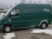 Orchid Green 2005 Dodge Sprinter 2500 High Roof RWD