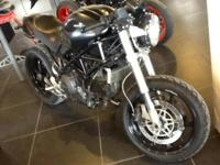 2005 Ducati Monster S2R Dark Custom version of the S2R