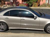E55 AMG kompressor 5.4 V8 470 HP 518 lb.ft. Massive