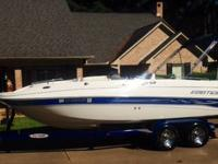 This is a super nice 2005 Ebbtide Fun Cruiser 270 HP