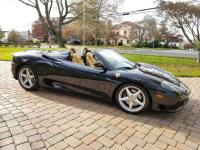 Here is a RARE 2005 Ferrari 360 Spyder only 50 were