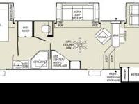 Here is another RARE front kitchen floorplan 5th wheel