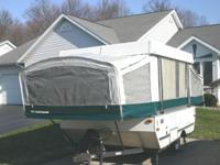 Twenty foot long (open) pop-up camper in very good
