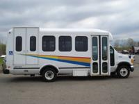 Options Included: N/ARear side door, wheelchair lift,