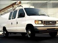 2005 Ford E350 Econoline with air conditioning, am/fm,