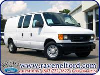 Options Included: 2005 Ford Econoline E-150 ** Fleet