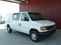Options Included: N/A2005 E250 CARGO VAN, 5.4 LITER V8,
