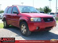 Clean CARFAX. Redfire Clearcoat Metallic 2005 Ford