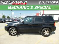 Limited trim. Leather Seats, Multi-CD Changer, 4x4,