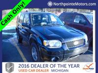 Options:  2005 Ford Escape Limited Black 2005 Ford