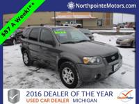 Options:  2005 Ford Escape Limited Gray We Finance!