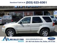2005 FORD ESCAPE LIMITED 4X4 LOADED WITH LEATHER, MOON