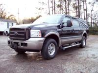 2005 Ford Excursion, 4x4, Powerstroke Diesel, Auto,