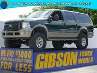 WWW.GIBSONTRUCKWORLD.COM*2005 Ford Excursion Eddie