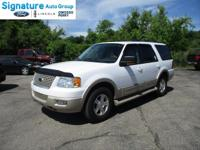 Options:  2005 Ford Expedition Eddie Bauer|Oxford White