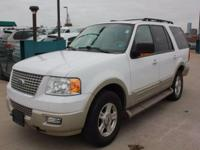 This 2005 Ford Expedition Eddie Bauer 4WD is a great