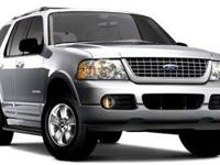 Clean CARFAX.  Gray 2005 Ford Explorer Eddie Bauer 4.0L