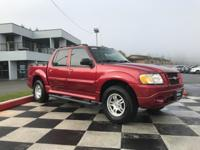 Red 2005 Ford Explorer Sport Trac XLT Leather Group 4WD