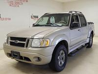 Options:  2005 Ford Explorer Sport Trac 4X4 Leather