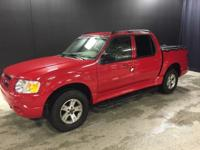 2005 Ford Explorer Sport Trac XLT in Bright Red