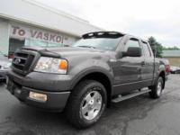 2005 FORD F-150 4X4 EXTENDED CAB WITH FX OFF ROAD