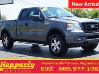 This 2005 Ford F-150 FX4 in Gray features. 18' Machined