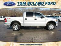 2005 Ford F-150 FX4 ABS brakes, Alloy wheels, Compass,