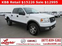 1-Owner New Vehicle Trade! FX4 5.4 V8 Crew Cab 4x4.