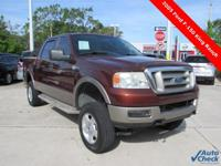 2005 Ford F-150 King Ranch 4WD ** 4D Crew Cab **